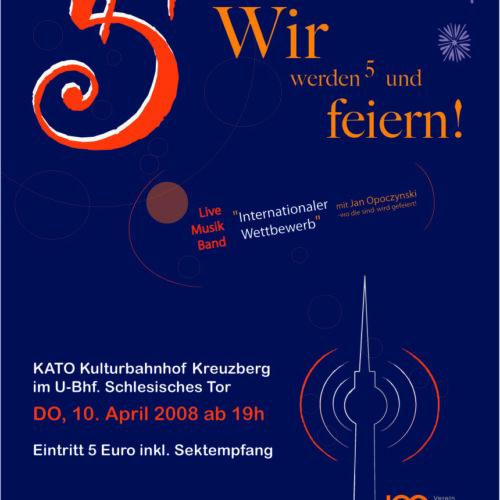 JOE-Plattform Berlin e.V. | Jubiläum 5 Jahre JOE-Plattform Berlin